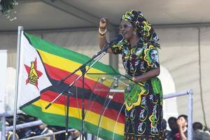 Zimbabwe's First Lady Claims Model Attacked Her With Knife