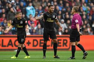 match of the day pundit believes newcastle's matt ritchie should have seen red for high challenge on swansea city's alfie mawson