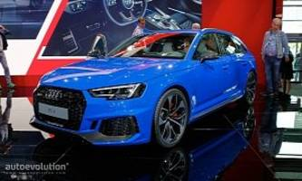 The New 450 HP Audi RS4 Avant Does 0-100 KM/H in 4.1 Seconds