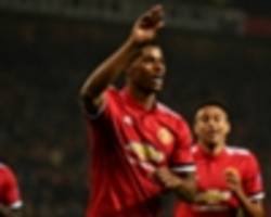 rashford extends incredible debut record with champions league strike