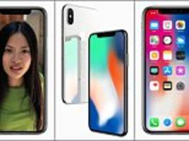 The $1,000 iPhone X: Apple unveils 10th anniversary phone