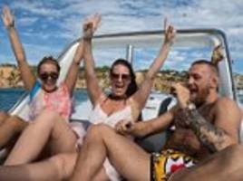 conor mcgregor continues to relax on yacht in ibiza
