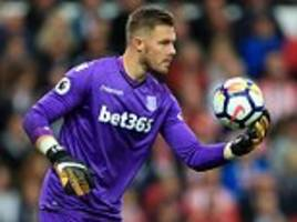 hughes makes claim for jack butland to be england no 1