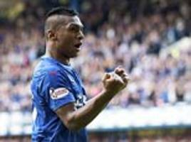 rangers' alfredo morelos colombia call-up and world cup