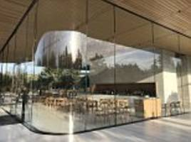 Inside Apple Park: First look at the Steve Jobs Theater