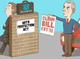 ask tony: co-op is billing me for car crash i didn't have