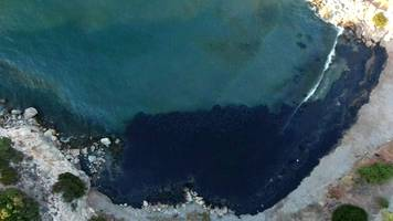 Oil spill off coast of Greece 'environmental disaster'