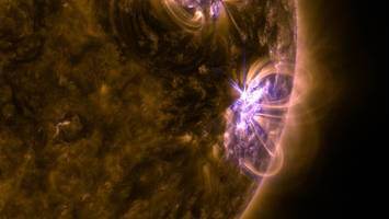 nasa: sun erupts with significant flare