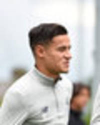 snapped: philippe coutinho trains with liverpool as mohamed salah misses out