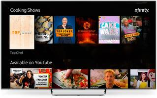 comcast's x1 set-top box gets a youtube app with voice control