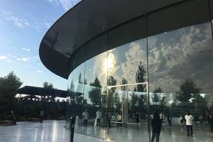 Here's our first look inside Apple's new campus