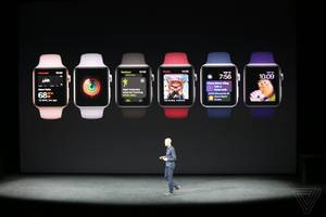 New Apple Watch announced with LTE