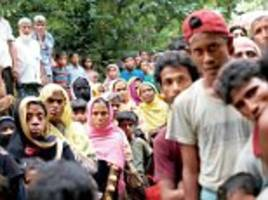 Rohingya refugees sign petition denying terrorist links