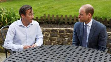 Football child abuse: Prince William visits Sporting Chance