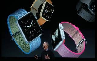 tim cook says apple watch has toppled rolex to become the world's top watch