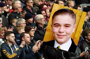 rams fans asked to pay tribute to tragic adam johnson, 12, at next home game