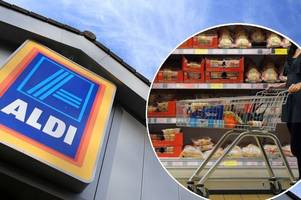 yaldy for aldi! you can go tonto in epic five-minute supermarket sweep trolley dash!
