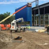 Iconic Blue Exterior Transforms Future IKEA Oak Creek as Work Progresses on Wisconsin Store Opening Summer 2018