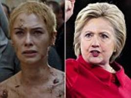 Hillary Clinton says Trump crowds shamed her like Cersei