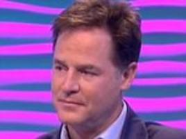 Nick Clegg reveals son Antonio's secret battle with cancer