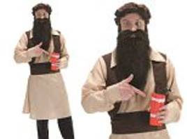 fancy dress site selling bomber outfit for halloween