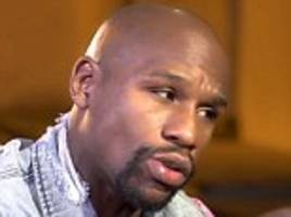 floyd mayweather says has seven girlfriends and 25 cars