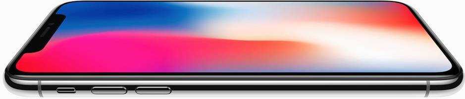 the new iphone x looks stunning, except for that hideous notch at the top of the phone (aapl)