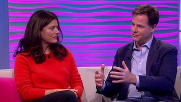 Nick Clegg and Miriam Gonzalez Durantez on son's cancer