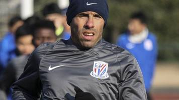 'overweight' tevez not fit enough to play