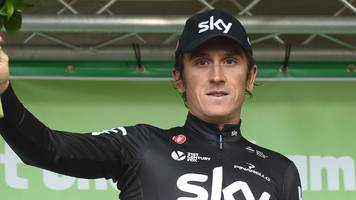road world championships: chris froome and geraint thomas in team sky line-up