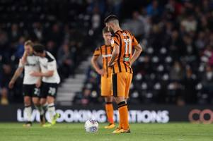 jon toral gives his take on hull city's hammering by derby county