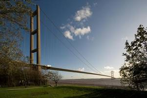 ever fancied working on the humber bridge? here's your chance