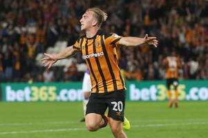 hull city's jarrod bowen keen to get the back on horse with a win fulham