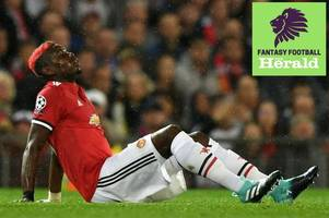 Fantasy Premier League: Paul Pogba injured on Champions League duty, best replacement players to sign, Mohamed Salah's illness, Alvaro Morata rested