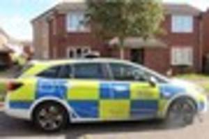 First pictures from the scene of Colchester murder show police...