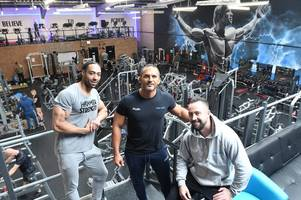 bodybuilding world champion louis smith returns to burton to offer personal training sessions at new specialist gym