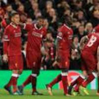 Liverpool pegged back by Sevilla on Champions League return