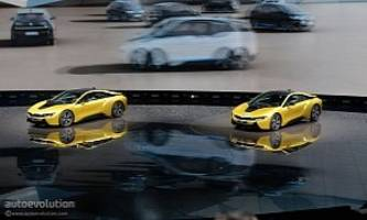 bmw i8 protonic frozen yellow edition is yellow, not sure about protonic