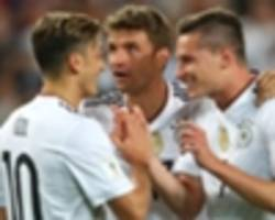 FIFA ranking: Germany overtake Brazil at summit & top 20 in full