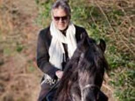 andrea bocelli was hospitalised after falling off a horse