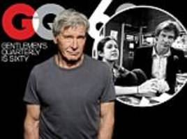 harrison ford reveals reaction to carrie fisher's memoir