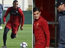 liverpool non-starters return to melwood training