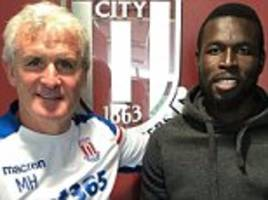 Mame Biram Diouf signs new three-year contract at Stoke