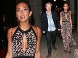 myleene klass and boyfriend simon motson watch seal gig
