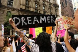 democrats say they've struck a deal with trump to protect young immigrants
