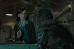 'the shape of water' red band trailer puts creature front and center (video)