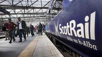 scotrail workers vote for action over cctv job cuts
