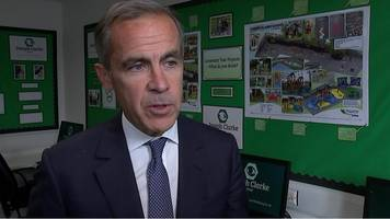 mark carney on possible rise in interest rates
