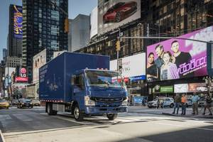 Daimler's small electric trucks are coming to America