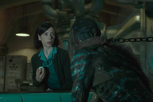 the shape of water's new trailer features angry scientists, a sea monster, and love